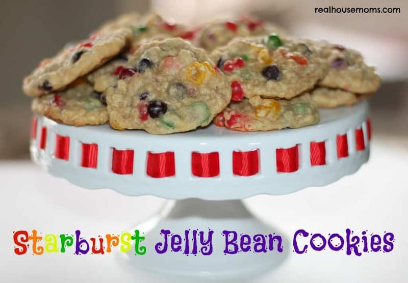 Starburst Jelly Bean Cookies